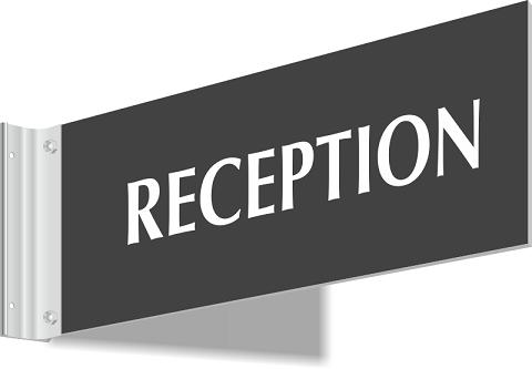 reception-sign